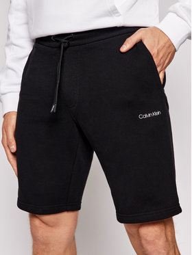 Calvin Klein Calvin Klein Pantaloni scurți sport Small Logo K10K107142 Negru Regular Fit