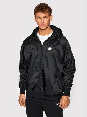 Nike Nike Wiatrówka Sportswear Windrunner DA0001 Czarny Regular Fit