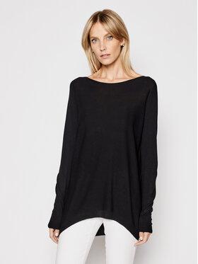 Kontatto Kontatto Sweater 3M7218 Fekete Relaxed Fit