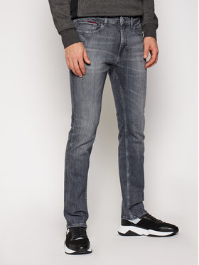 Tommy Jeans Tommy Jeans Jeansy Slim Fit Scanton DM0DM09282 Szary Slim Fit