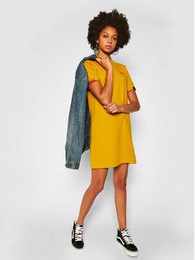 Vans Vans Každodenní šaty Hi Roller Tri Check VN0A4SAI Žlutá Regular Fit