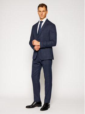 Tommy Hilfiger Tailored Tommy Hilfiger Tailored Anzug Flex Slim Fit Lapel TT0TT08042 Dunkelblau Slim Fit