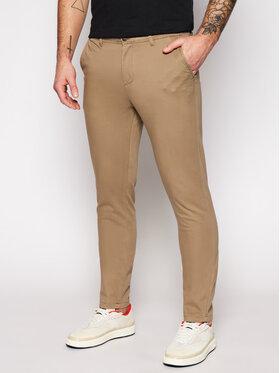 Jack&Jones Jack&Jones Παντελόνι υφασμάτινο Marco Bowie 12150160 Μπεζ Slim Fit