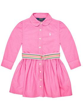 Polo Ralph Lauren Polo Ralph Lauren Ежедневна рокля 313835211002 Розов Regular Fit