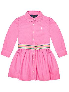 Polo Ralph Lauren Polo Ralph Lauren Každodenní šaty 313835211002 Růžová Regular Fit