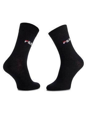 Fila Fila Unisex ilgų kojinių komplektas (3 poros) F9630 Tamsiai mėlyna