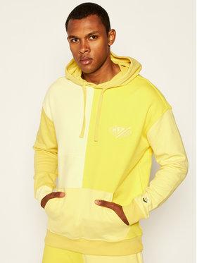 Guess Guess Sweatshirt J BALVIN Color Block M0FQ68 RA1B0 Gelb Regular Fit