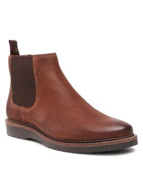 Badura Badura Členková obuv s elastickým prvkom MI07-BB142-A969-02 Hnedá