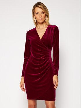 DKNY DKNY Kokteilinė suknelė DD9IF965 Bordinė Regular Fit
