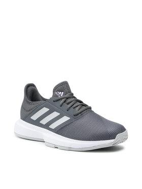 adidas adidas Topánky GameCourt W FZ4287 Sivá