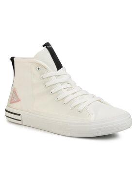 Guess Guess Laisvalaikio batai Nettuno Hi FM6NTH FAB12 Balta
