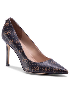 Guess Guess Обувки на ток Dafne3 FL7DA3 FAL08 Кафяв