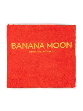 Banana Moon Banana Moon Ręcznik Plain 81614 Czerwony