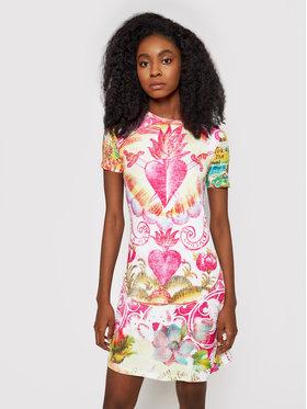 Desigual Desigual Sukienka letnia 21SWVKB9 Kolorowy Slim Fit