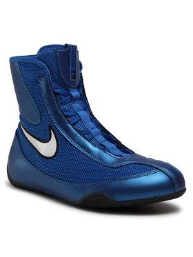 Nike Nike Boty Mid Boxing Shoe 333580 411 Modrá