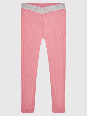 United Colors Of Benetton United Colors Of Benetton Legginsy 3PNQCF001 Różowy Slim Fit