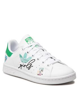 adidas adidas Buty Stan Smith J GZ7384 Biały