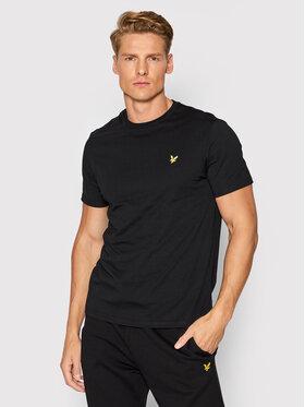 Lyle & Scott Lyle & Scott T-Shirt Plain TS400VOG Černá Regular Fit