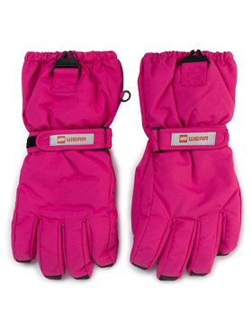 LEGO Wear LEGO Wear Ръкавици за ски Lwalfred 703 21527 Розов
