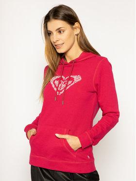 Roxy Roxy Bluza ERJFT04155 Różowy Regular Fit