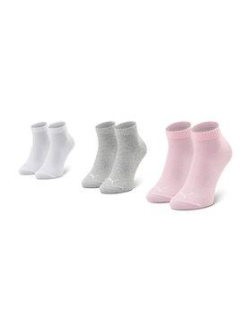 Puma Puma Sada 3 párů dětských nízkých ponožek 194011001 Šedá