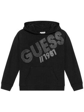 Guess Guess Bluza J1YQ01 KA6V0 Czarny Regular Fit