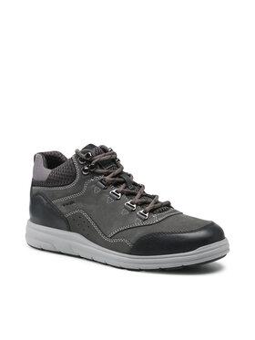 Geox Geox Šnurovacia obuv U Hallson C U165UC 03214 C9004 Sivá