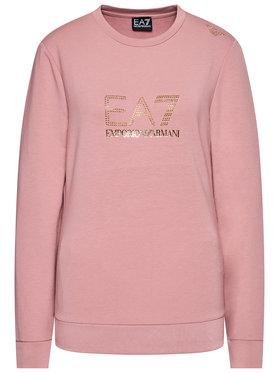 EA7 Emporio Armani EA7 Emporio Armani Sweatshirt 8NTM45 TJ9RZ 1436 Rose Regular Fit
