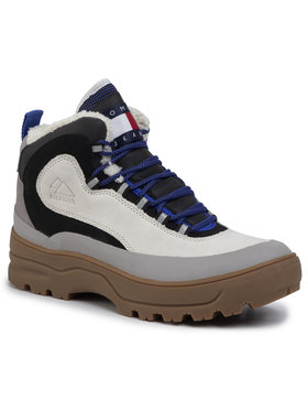 Tommy Jeans Tommy Jeans Ορειβατικά παπούτσια Hilfiger Expedition Boot EM0EM00378 Μπεζ