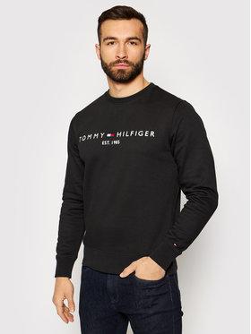 Tommy Hilfiger Tommy Hilfiger Bluza Logo MW0MW11596 Czarny Regular Fit