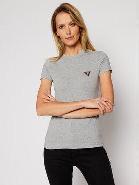 Guess Guess T-Shirt Mini Triangle W1RI04 J1311 Šedá Slim Fit