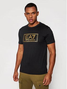 EA7 Emporio Armani EA7 Emporio Armani T-Shirt 6HPT51 PJM9Z 1200 Czarny Regular Fit