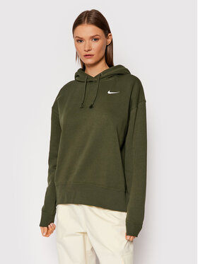 Nike Nike Bluza Sportswear CZ2590 Zielony Oversize