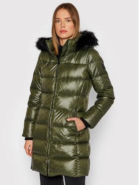 Calvin Klein Calvin Klein Kurtka puchowa Essential K20K203127 Zielony Regular Fit