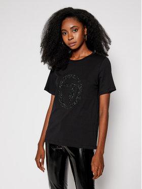 Trussardi Jeans Trussardi Jeans T-Shirt 56T00277 Czarny Regular Fit