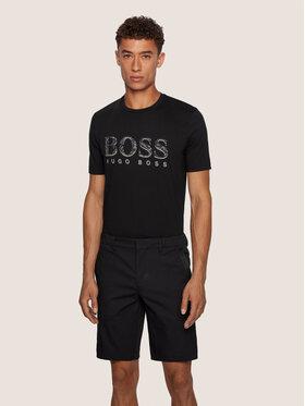 Boss Boss T-Shirt Tee 11 50436193 Czarny Regular Fit