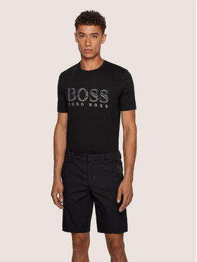 Boss Boss Тишърт Tee 11 50436193 Черен Regular Fit