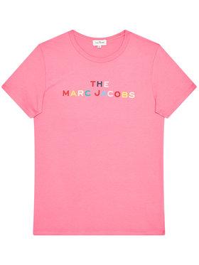 Little Marc Jacobs Little Marc Jacobs T-Shirt W15510 D Rosa Regular Fit