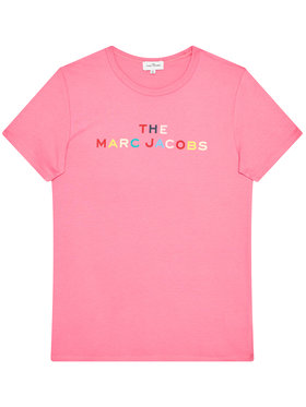 Little Marc Jacobs Little Marc Jacobs T-Shirt W15510 D Różowy Regular Fit