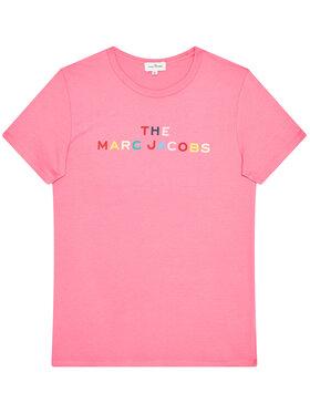 Little Marc Jacobs Little Marc Jacobs Тишърт W15510 D Розов Regular Fit