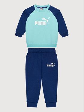 Puma Puma Tepláková súprava Minicats Ess Raglan 584861 Modrá Regular Fit