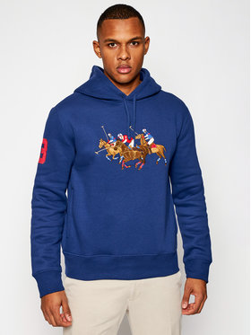 Polo Ralph Lauren Polo Ralph Lauren Sweatshirt Triple-Pony Crest 710823853001 Bleu marine Regular Fit