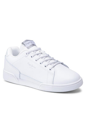 Pepe Jeans Pepe Jeans Sneakersy Lambert Chic PLS31247 Bílá