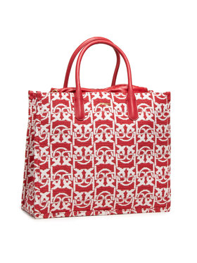 Pinko Pinko Torebka Love Shopping Monogram Al 20-21 PLTT 1P21WX Y6NQ Czerwony