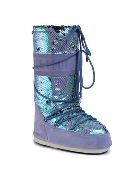 Moon Boot Moon Boot Śniegowce Classic Disco 14025200 Fioletowy