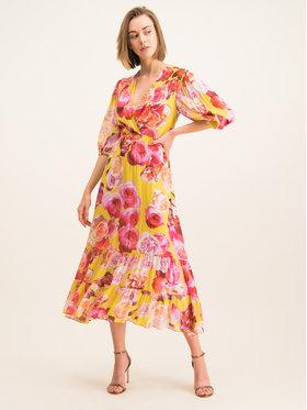 Pinko Pinko Ljetna haljina 20201 BLK01 1G14KD 7932 Šarena Regular Fit