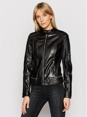Guess Guess Veste en cuir New Tammy W1GL17 WDTZ0 Noir Slim Fit