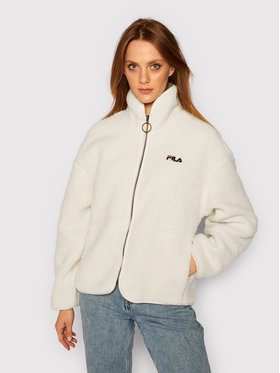 Fila Fila Átmeneti kabát Sari Sherpa 687980 Fehér Regular Fit