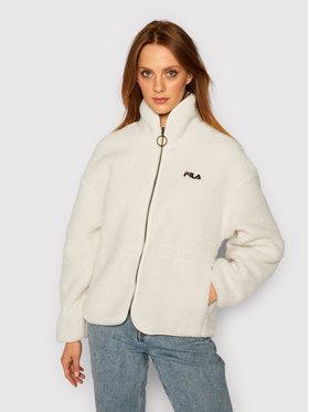 Fila Fila Giacca di transizione Sari Sherpa 687980 Bianco Regular Fit