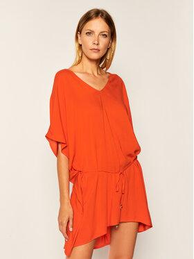 Chantelle Chantelle Paplūdimio suknelė Caftan C10D40 Oranžinė Regular Fit